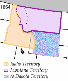 Wpdms idaho territory 1864 legend idx
