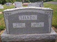 Shade albert edna tombstone