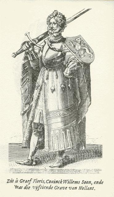 Floris V van Holland (1254-1296)