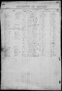 Olsen-Osborne 1883 birth register