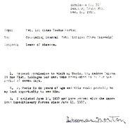 Norton-Thomas 1918december01 letter
