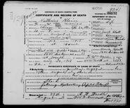 Katherine Glatt Death Certificate