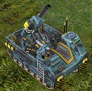 ECA Mortar Track Deployed