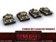 China Battlemaster Variants