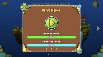 Geometry Dash World - Machina