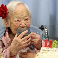 Misao Okawa at age 116