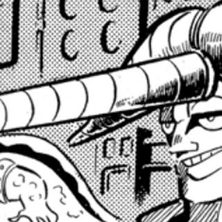 Garo's extending unicorn horn