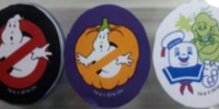 Ghostbusters Halloween Candy Cans