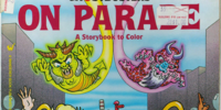 The Real Ghostbusters On Parade: A Storybook to Color