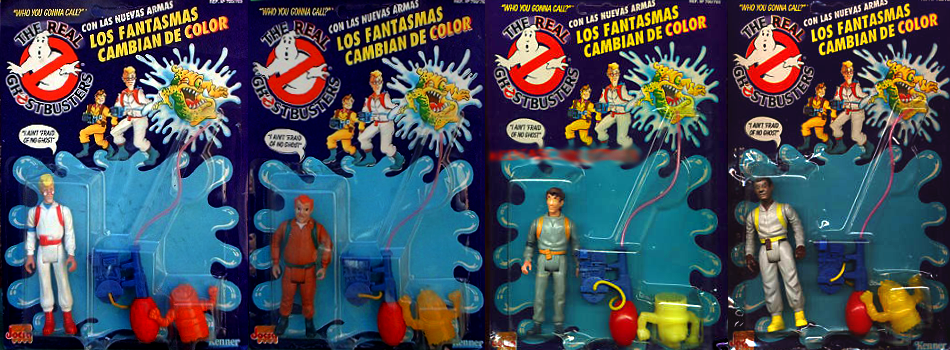 Slimed Heroes Variant Jocsa The Real Ghostbusters Action