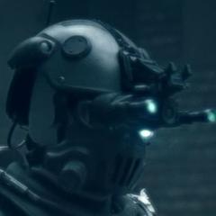 Closeup of the new Helmet