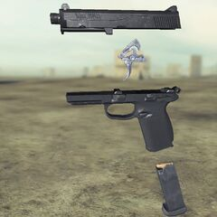 Ghost recon Future Soldier FN FNP45 4