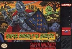 GhoulsSNESboxart