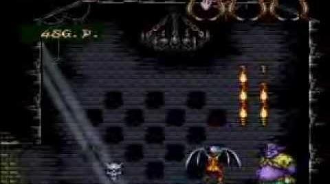 Demon's Crest Hard Level Skull Headbutt Game