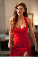 Sexy in red lady jaye