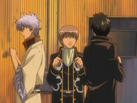 Gintoki, Sougo and Hijikata Episode 166