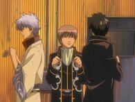 Gintoki, Sougo and Hijikata Episode 166