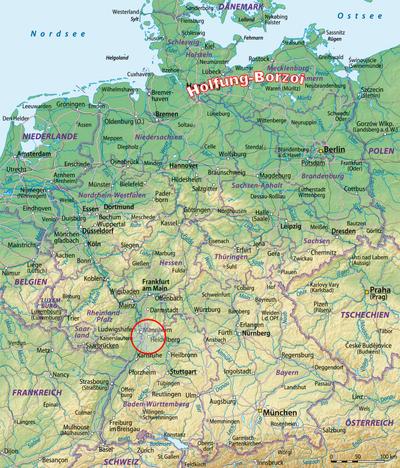 Heidelberg-area-map