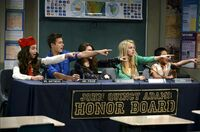 Honor Board Makes A Point