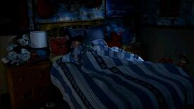Googly At Auggie's Bedside