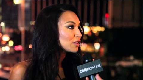 HD Naya Rivera Bud Light 50 50 1 Concert Interview
