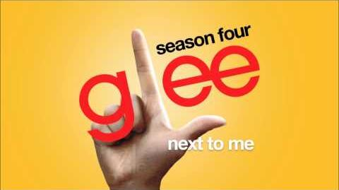 Next To Me Glee HD FULL STUDIO
