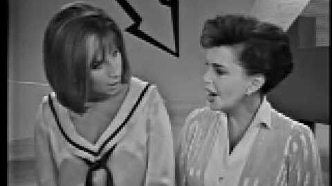 Judy Garland Barbra Streisand Duet - Get Happy Happy Days Are Here Again