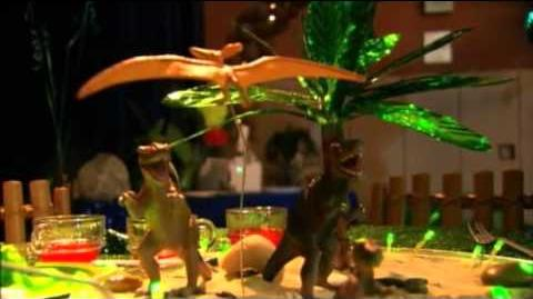 Behind The Glee Prom-A-Saurus