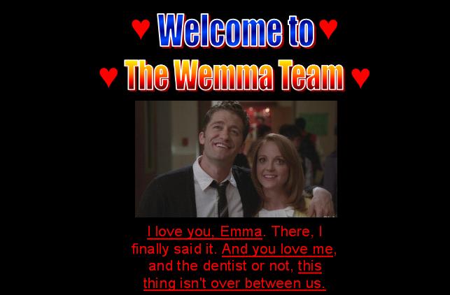 WelcomeToTheWemmaTeamPage