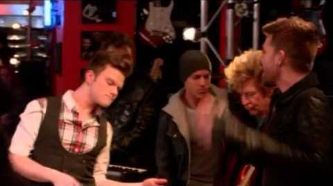 GLEE- Rockstar (Full Performance) (Official Music Video) HD
