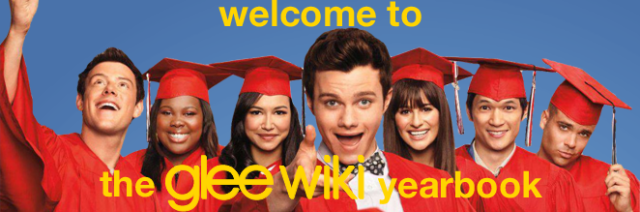 File:-Welcome to The Glee Wiki Yearbook.png