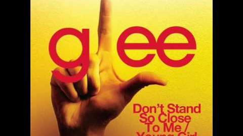 Glee - Don't Stand So Close To Me Young Girl (Acapella)