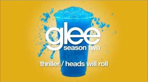 Thriller Heads Will Roll Glee HD FULL STUDIO