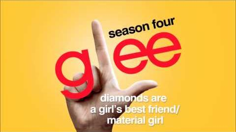 Diamonds Are a Girl's Best Friend Material Girl - Glee HD Full Studio