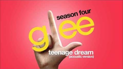 Teenage Dream (Acoustic Version) Glee HD FULL STUDIO