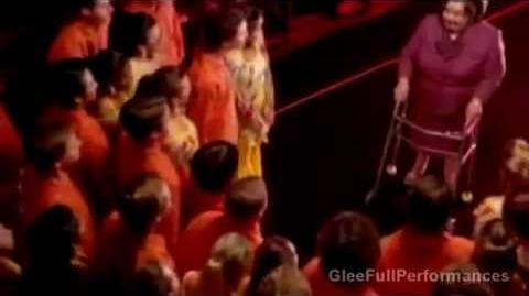 "GLEE - Full Performance of ""That's The Way (I Like It) Shake Your Booty"" - Deleted Scene"