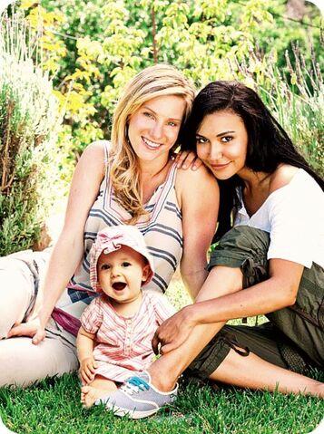 File:Brittana family.jpg
