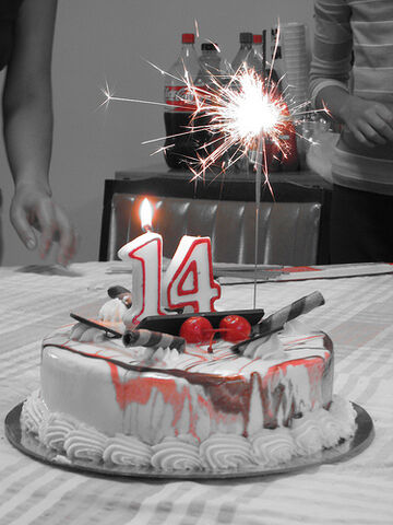 File:14th-birthday-cake.jpg