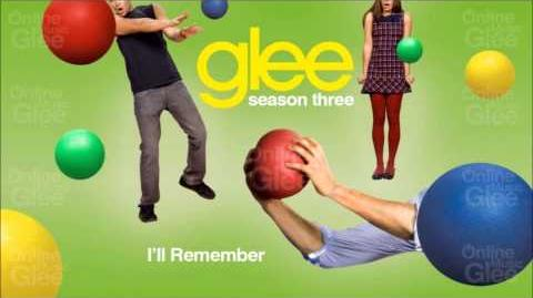 I'll Remember - Glee HD Full Studio