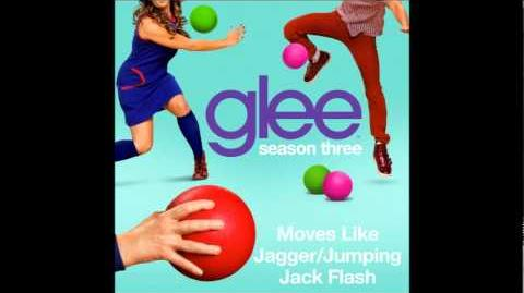 Moves Like Jagger Jumpin' Jack Flash (Glee Cast Version)
