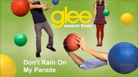 Don't Rain On My Parade, Glee Season 3 - Choke