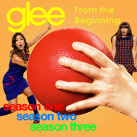 File:Glee From The Beginning Logo Official.png