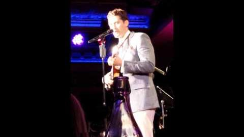 Matthew Morrison @ 54 Below NYC 7.14