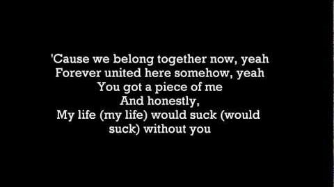 My life would suck without you by Glee LYRICS