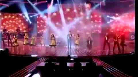 Glee Don't Stop Believing X Factor Live Performance Glee Live On X Factor 2010 Results Show Full HQ