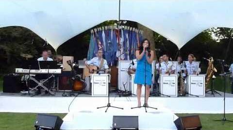 Jenna Ushkowitz of Glee sings at the American Ambassador's Residence in Paris-0