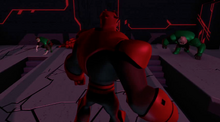 Atrocitus and the two Green Lanterns