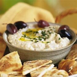 Baba-Ghanoush-olives