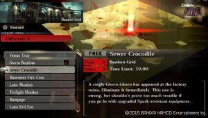 R4 Sewer Crocodile