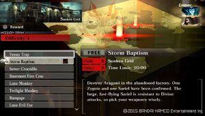 R4 Storm Baptism